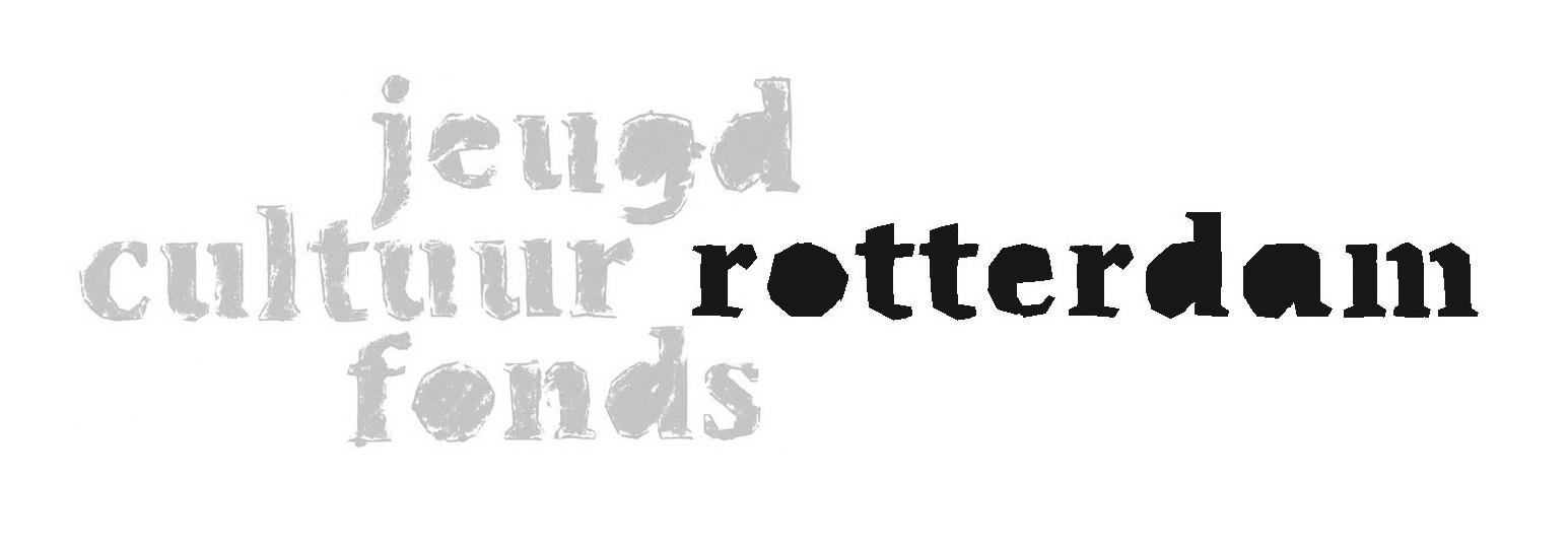 logo Jeugdcultuurfonds Rotterdam zwart